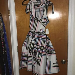 NWT 20 Eloquii wrap around dress